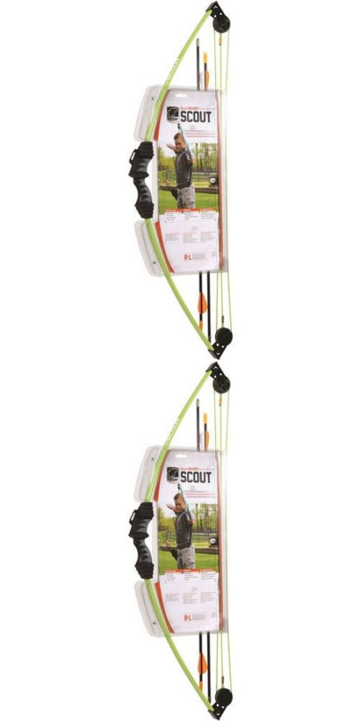 Archery Sets and Kits 161751: Bear Archery Scout Youth Bow Set Flo Green Compound For Kids -> BUY IT NOW ONLY: $35.25 on eBay!