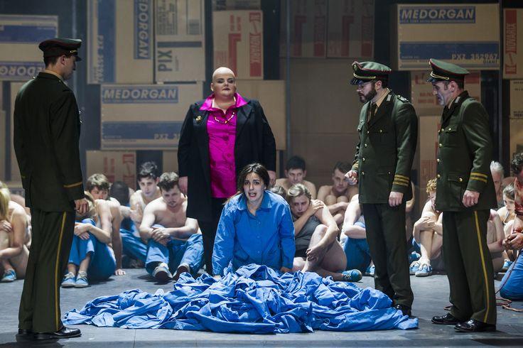 Turandot - Eamonn Mulhall (Pong), Miriam Murphy (Turandot), Anna Patalong (Liu), Paul Carey Jones (Ping), Andrew Rees (Pang), The Chorus of Northern Ireland Opera - #TurandotBelfast