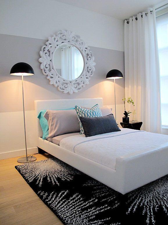 For Mathilde's room. Stripe in pale pink....