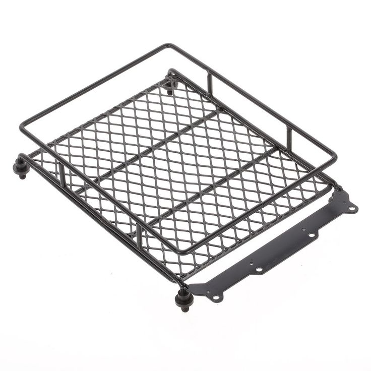 TPOWER Metal Roof Rack With Screws for 1/10 Axial SCX10