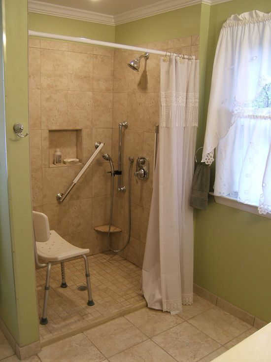 Tile shower very small step to step over walk in showers for Super small bathroom ideas