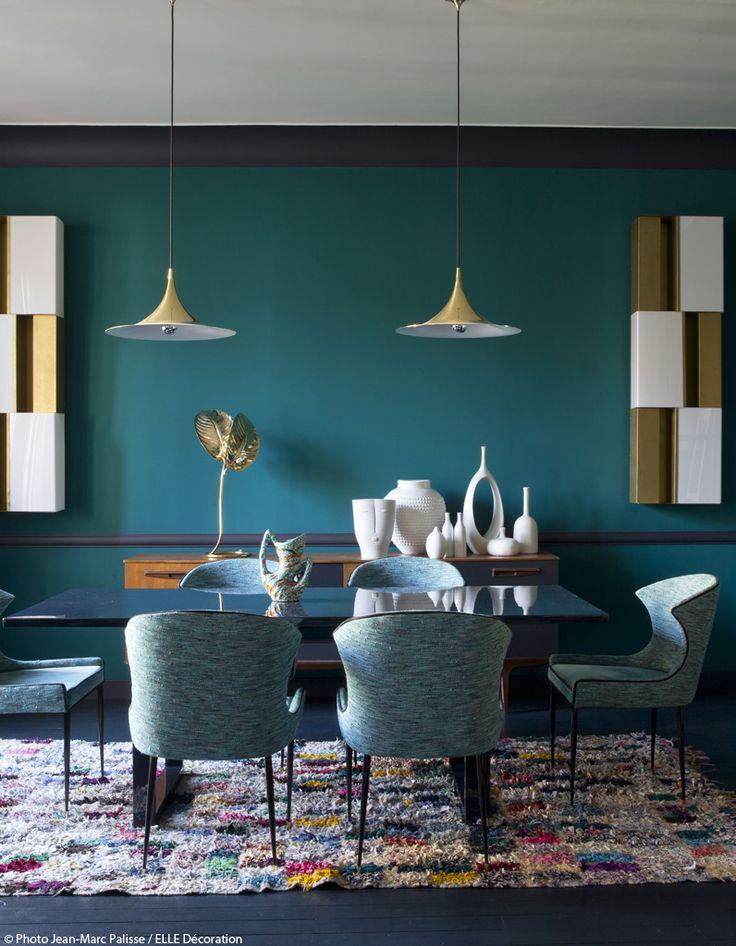 French Interior Architect Anne-Sophie Pailleret's Parisian apartment. Elle Decoration