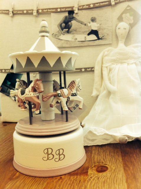 Baby Girl Music Box