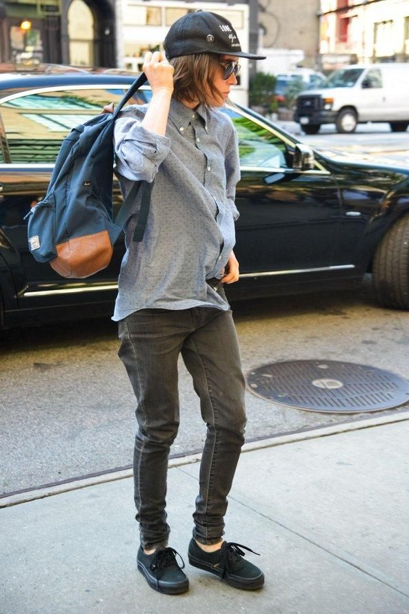 The ultimate back-to-school backpack style inspiration from your favorite models and celebs—Ellen Page