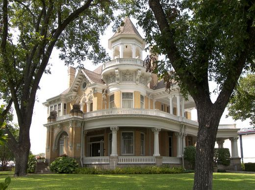 Waco, Texas Home of James Madison Cooper, author of Sironia, Texas