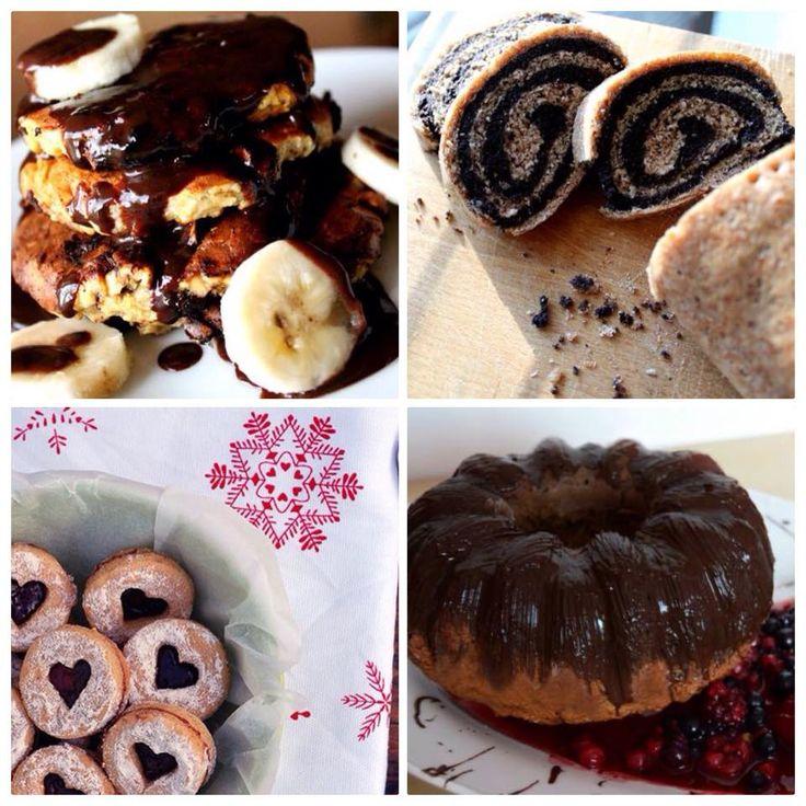 tradičné dezerty a sladké jedlá v zdravom šate