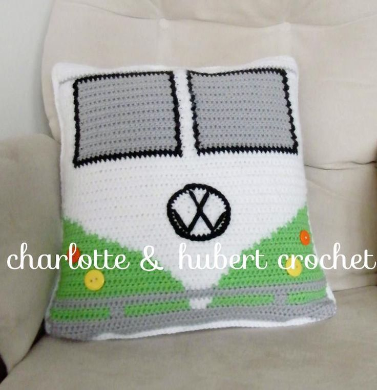 Looking for your next project? You're going to love campervan cushion cover by designer Amelia Abran. - via @Craftsy