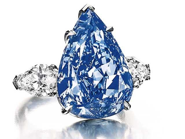 Slideshow : The Blue: World's largest flawless fancy vivid diamond - The Blue: World's largest flawless fancy vivid diamond - The Economic Times