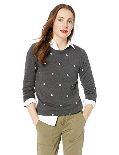 Buy Jcrew Mercantile Jcrew Mercantile Womens Polka Dot Crewneck