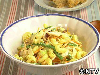 かくし味はしょうゆとレモン「チキンマカロニサラダ」のレシピを紹介!