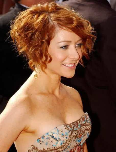Pleasing 1000 Images About Curly Hair Cuts On Pinterest Short Curly Hair Short Hairstyles Gunalazisus