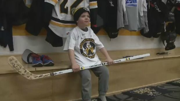 A young Cape Breton boy, who is facing a life-threatening illness, had his dreams come true Thursday night when he got to meet his hockey heroes. Click on the link to learn more http://atlantic.ctvnews.ca/hockey-dream-comes-true-for-c-b-boy-with-cancer-1.2785391