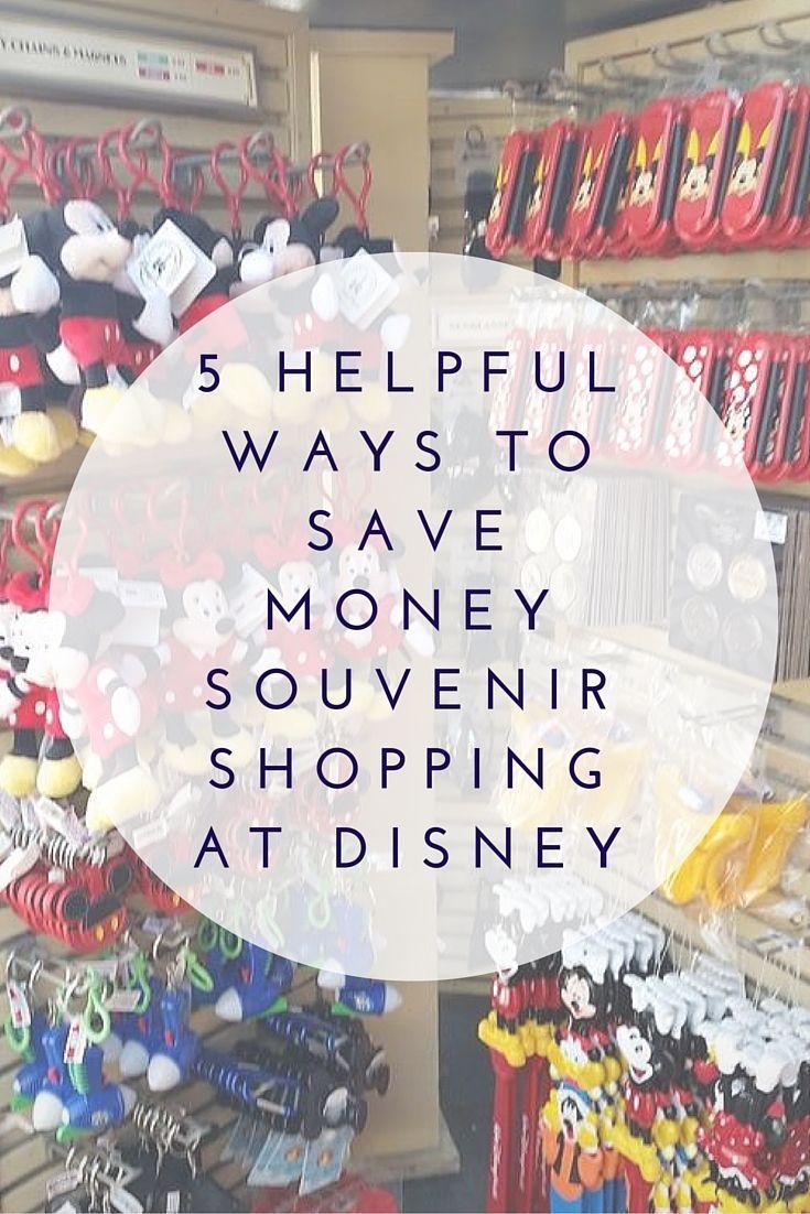 5 Helpful Ways to Save Money Souvenir Shopping at Disney-TMOM