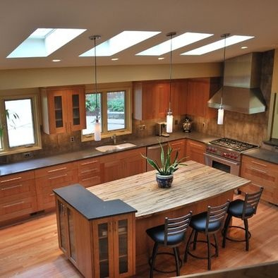 Cherry Wood Kitchen Cupboards