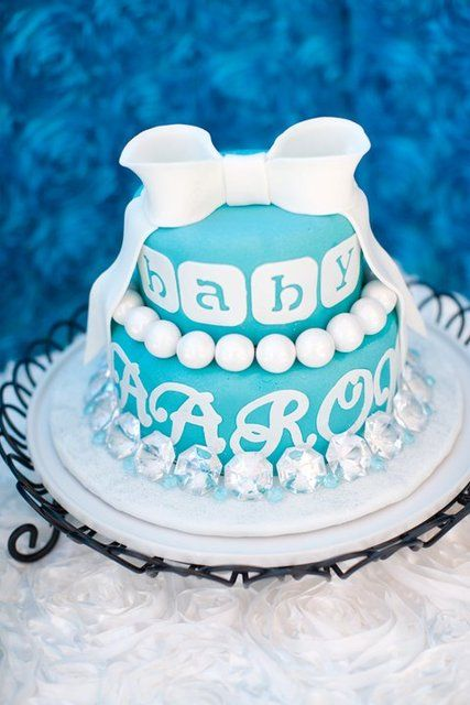 Awesome TIFFANY U0026 CO Baby Shower Party Ideas