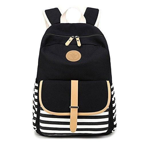 Oferta: 3.41€. Comprar Ofertas de SupplyEU - Bolso mochila  para mujer negro negro barato. ¡Mira las ofertas!