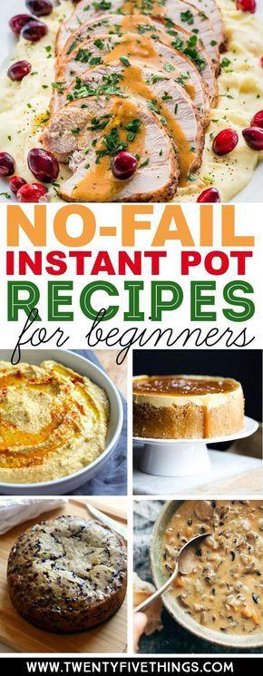25 Easy Instant Pot Recipes for BeginnersJulie Summers