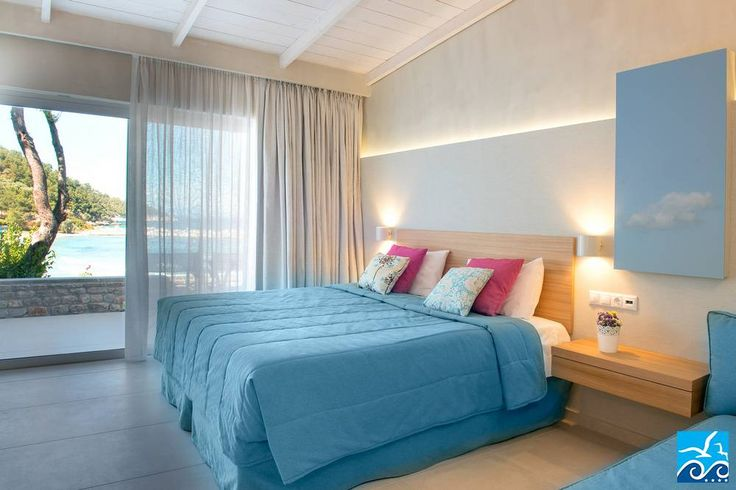 Seafront Deluxe Room, Makryammos Bungalows, Four Star Hotel, Thassos