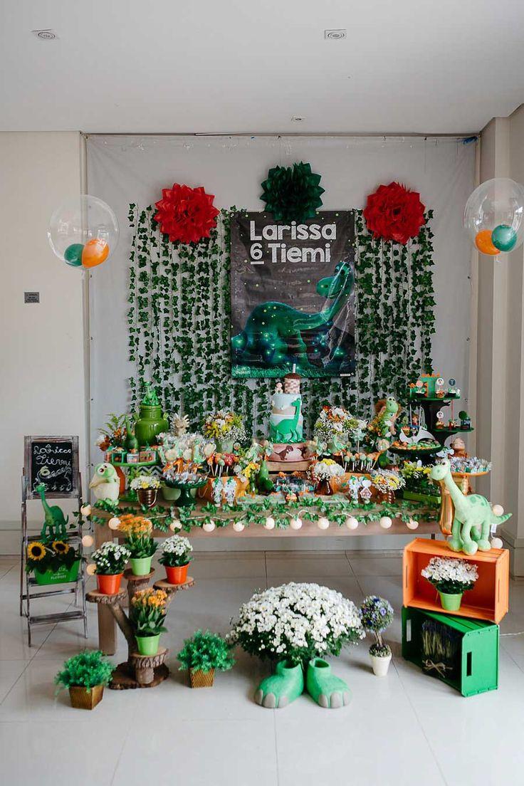 Festa DIY Bom Dinossauro | 6 anos da Larissa Mais