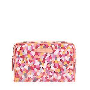 Vera Bradley Large Clear Cosmetic Bag  $14