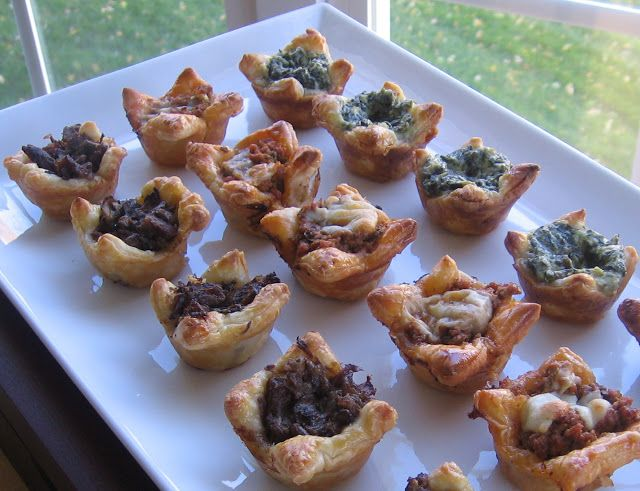 Shawnsplate refrigerator challenge easy puff pastry for Hor d oeuvres recipes