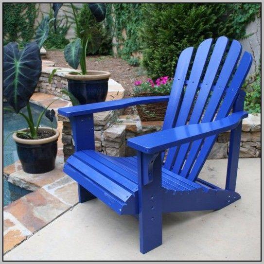 Plastic Adirondack Chair Ottoman   Home Furniture Design