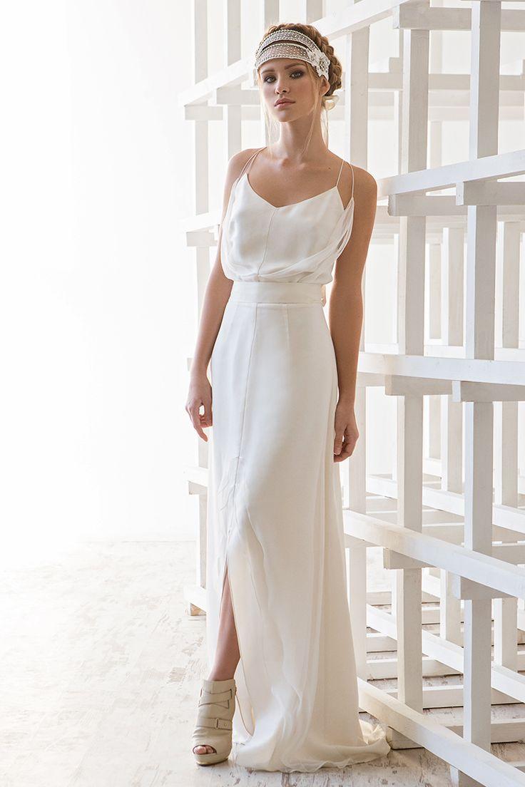 Легкое свадебное платье в стиле ретро Aster (Victoria Spirina)
