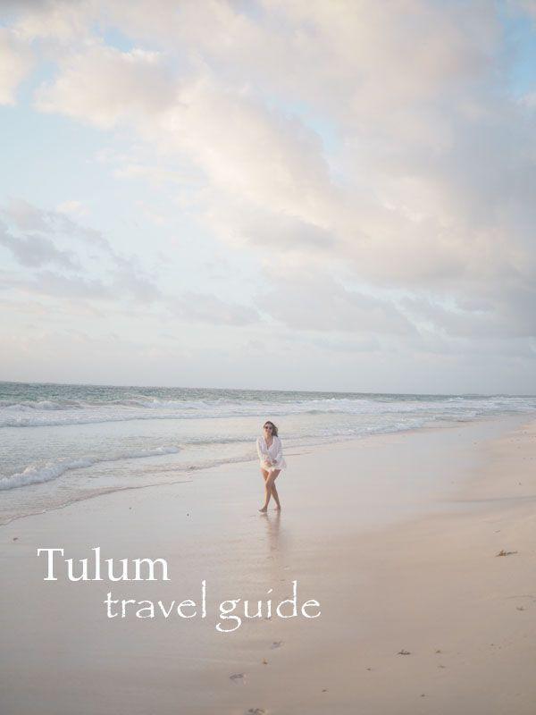 Avec Sofié / Tulum travel guide