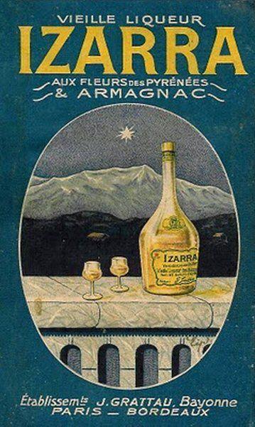 Vieille Liqueur Izarra J. Gratteau