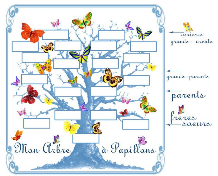 20 best arbre g n alogique images on pinterest family tree chart family trees and genealogy - Imprimer arbre genealogique ...