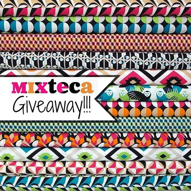 Mixteca Giveaway today!! Stop by my blog to enter! @mengelbencsko #cloud9fabrics #giveaway - @maureencracknell- #webstagram