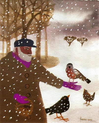 One Pink Goose: When The Music's Not Forgotten.  Mary Fedden - artist