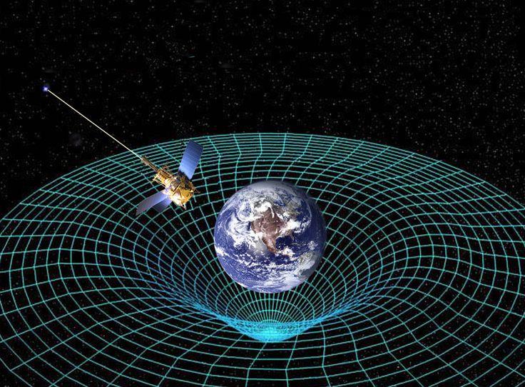 General relativity!  Yay!