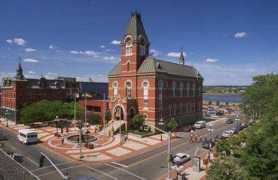 Fredericton, New Brunswick Where our first daughter was born
