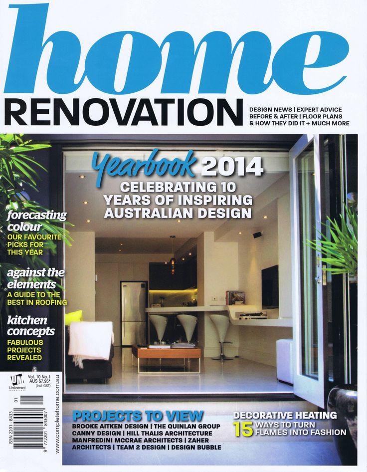 Home Renovation Vol 10 No 1 Cover Brooke Aitken Design