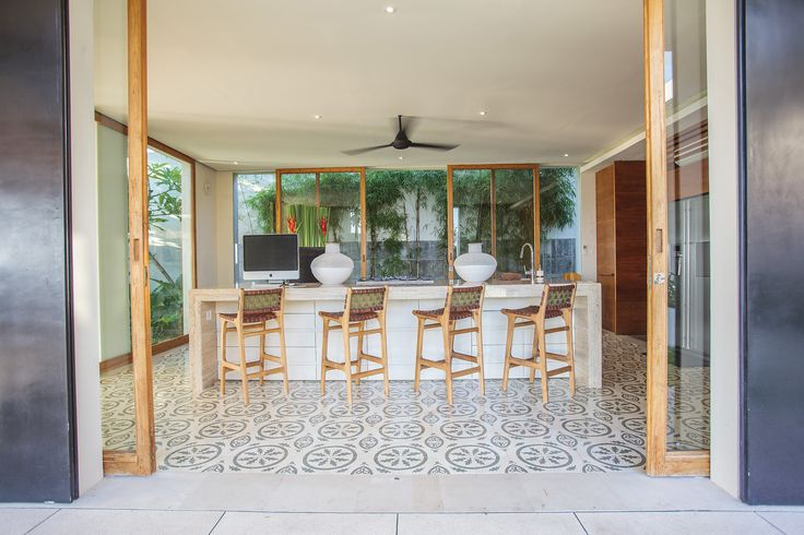 The Iman Villa , Canggu. Luxury 5-bedroom Bali villa offering outstanding contemporary design. This fully staffed idyllic escape comes complete with every amenity imaginable.