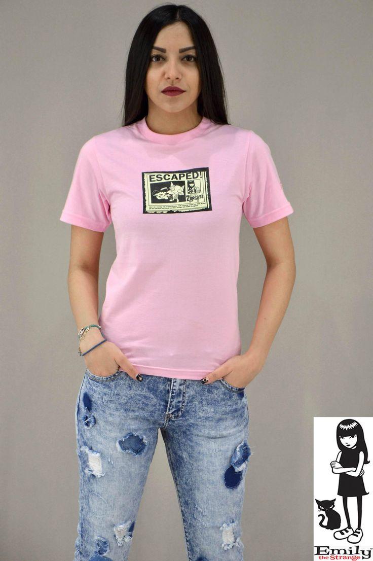 Γυναικείο t-shirt Emily Strange Escaped MPLU-0829-Kpn | T-shirts