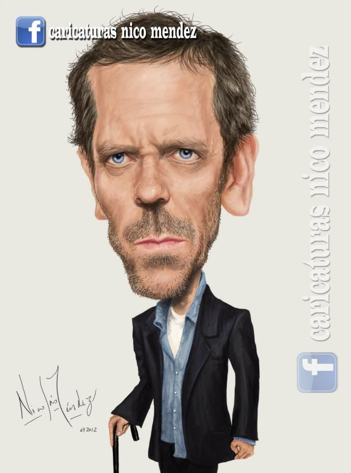 (Caricatura) Dr. House