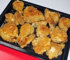 Fica muito suculento e tem menos gordura do que o tradicional frango frito