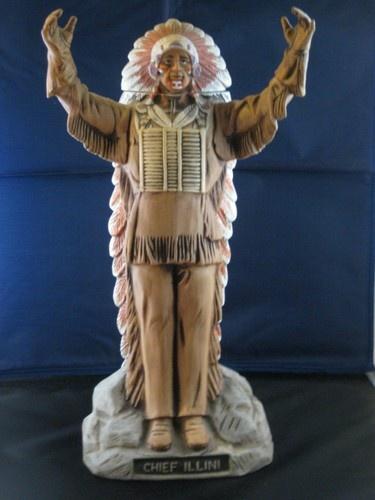 1979 Rare Old Commonwealth Illinois Chief Illiniwek