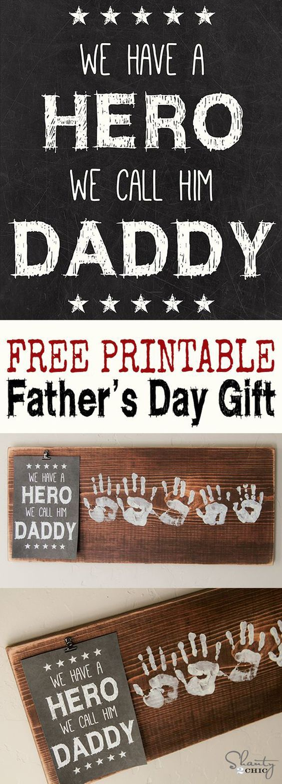 Creative DIY Ideas for Father's Day Gift by DIY Ready at http://diyready.com/21-cool-fathers-day-gift-ideas/
