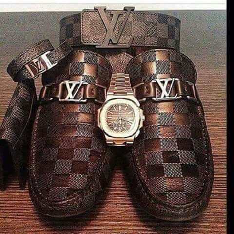 Sexy Brown and bronze Louis Vuitton items - for men