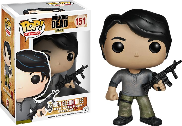 Pop! Vinyl #151 The Walking Dead - Prison Glenn.  There is a new Glenn?  I've…