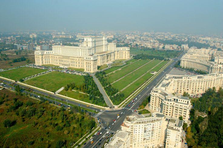 Bukarest: Parlaments Palast