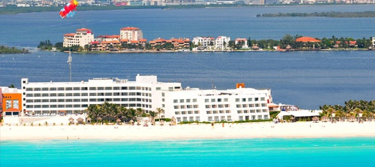 Flamingo Resort; Cancun, Mexico