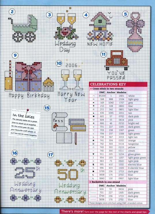 (1) Gallery.ru / Фото #50 - The world of cross stitching 106 январь 2006 - tymannost