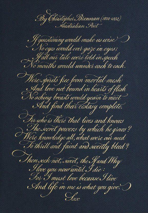 My Calligraphy Blog: calligraphy