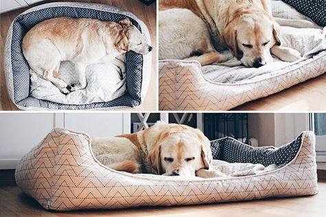die besten 25 hunde bett ideen auf pinterest hundebett kissen f r das bett und hundebett aus. Black Bedroom Furniture Sets. Home Design Ideas