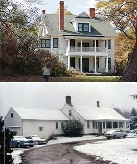 The Conjuring: The Real Story { Movie House vs. Real Perron Farmhouse }