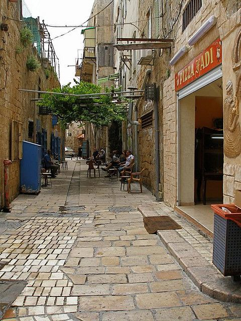 Streets of Acre, Israel